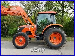 Kubota m8540 4x4 loader tractor LOW HOURS