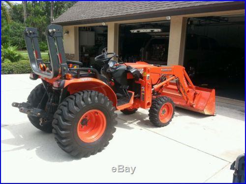 Kubota tractor