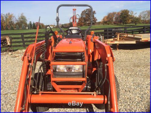 Kubota tractor 4x4