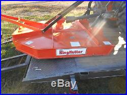 L3200DT Kubota 4wd Tractor/Loader/Trailer/Bush Hog/Boxblade/ Tiedowns/Package