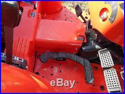 L3200D Kubota 4wd Tractor PKG Trailer/Bush Hog/ Boxblade+Tiedowns/Hydrostatic