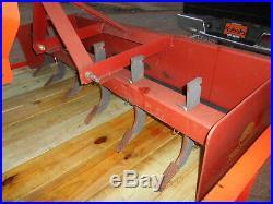 L3400D Kubota 4wd Tractor/Loader/Trailer/Brush Hog/Boxblade and tiedowns
