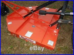 L3400 Kubota 4wd Tractor/Loader/ NEW Trailer/ BushHog/ Boxblade/Tiedowns