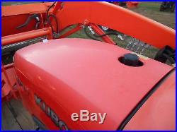 L3800D Kubota 4wd Tractor Loader/New Trailer/USED Bush Hog and Box Blade