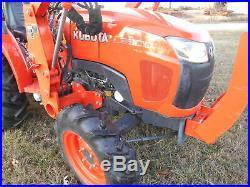 L3800 Kubota 4wd Tractor/Loader Hydro transmission/Used 6' BushHog