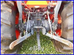 L4400DT Kubota 4WD Tractor with Loader/6' King Kutter Brush Hog