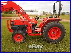 L4400HST Kubota 4WD Tractor with Loader/Trailer/Equipment 2011 Model