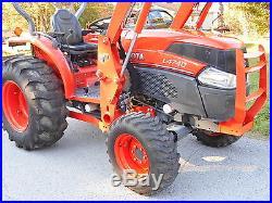 L4740GST Kubota 4WD Tractor Loader/Trailer/Bushhog/Boxblade/Complete Package