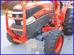 L4740 Kubota 4WD Tractor with Loader/GST TRANSMISSION/2012 Model