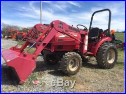 Mahindra 2015 4x4 Compact Tractor /loader Low Hours! Cheap Shipping Rates