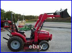 Mahindra 2216 HST 4WD Compact Diesel Tractor with Loader and Belly Mower