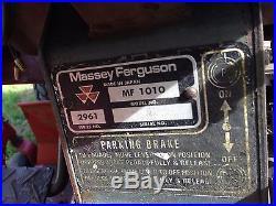 Massey Ferguson 1010 with Mower Deck DIESEL 4WD