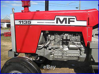 Massey Ferguson 1135 Diesel 1974 Model Multi-Power 6 cylinder diesel 120 HP