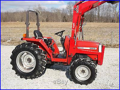 Massey Ferguson 1260 Compact Tractor & Loader Diesel 4x4- 511 Hours