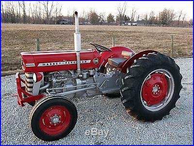 Massey Ferguson 135 Tractor Diesel Restored | Mowers & Tractors