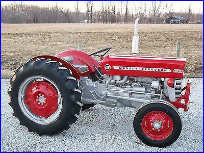 Massey Ferguson 135 Tractor Diesel Restored