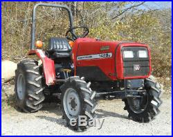 Massey Ferguson 1428V with 42Cutter. 4wd, Power Steering Used Tractor, Athens, OH