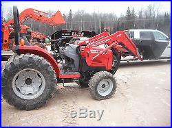 Massey Ferguson 1540 40HP 4x4 Loader Compact Tractor