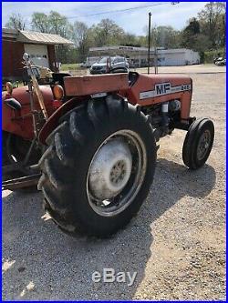 Massey Ferguson 245 Diesel Tractor. Power Steering. Live PTO