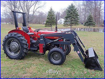Massey Ferguson 253 Tractor & Front Hydraulic Loader Diesel