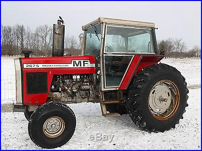 Massey Ferguson 2675 Tractor & Cab -1603 hours diesel