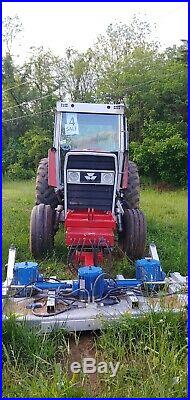 Massey Ferguson 2745 Cabbed Tractor with 145 PTO hp in Good Condition