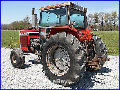Massey Ferguson 2775 Tractor & Cab diesel