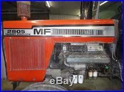 Massey Ferguson 2800 / 2805 Tractor, MF Farm Tractor