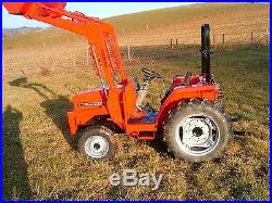 Massey Ferguson 30 HP 4WD Compact Diesel Tractor with Front end loader