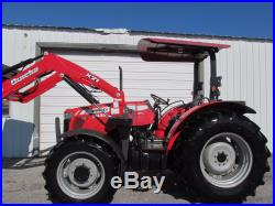 Massey Ferguson 3635 Farm Agriculture Tractor 4X4 With Canopy & Loader
