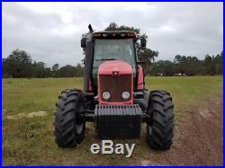 Massey Ferguson 5465 4wd Tractor, Dyna-4 4x4, Diesel, Farm / Pulling Tractor