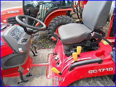 Massey Ferguson GC1710 Tractor Loader Backhoe, Low hours