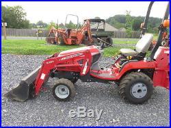 Massey Ferguson GC2310 4×4 Compact Tractor Loader Backhoe