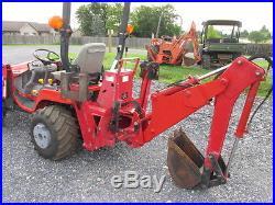 Massey Ferguson GC2310 4×4 Compact Tractor Loader Backhoe | Mowers