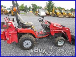Massey Ferguson GC2310 4x4 Compact Tractor Loader Backhoe