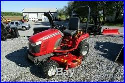 Massey Ferguson Gc2400 Compact Tractor. 60 Mower Deck. 60 Snow Blade. Nice