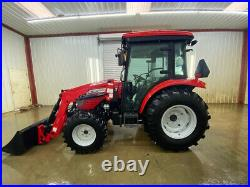 Mccormick X1.45c Cab Compact Tractor With A/c And Heat