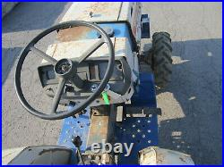 Mitsubishi MT160D Diesel 3cy 16.5hp Compact Tractor with Woods RM59 finish mower