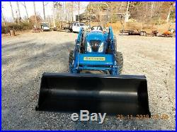 NEW HOLLAND BOOMER 40 TRACTOR 4x4 DIESEL ONLY 102 HRS. SOLD NEW IN 2014