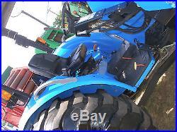 NEW HOLLAND TC 55 DA 4 X 4 LOADER TRACTOR TURBO