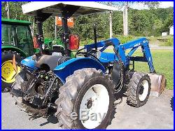 NEW HOLLAND TN70 TRACTOR LOADER