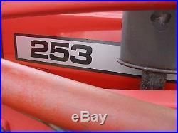 NICE 253 MASSEY FERGUSON 4x4 TURBO DIESEL LOADER TRACTOR