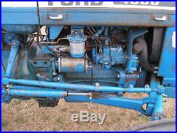 Nice 4600 Su Ford 2 Wheel Drive Diesel Tractor With Powert Steering