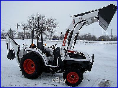 NICE! Bobcat CT440 4WD Diesel Tractor W/ Loader Backhoe & Remotes! NO RESERVE