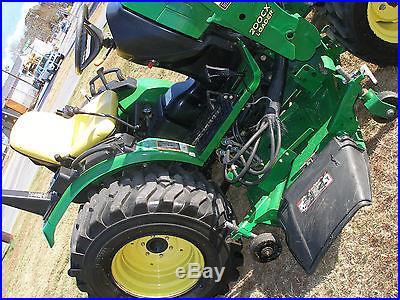 Nice John Deere X Loader Tractor With Mower Deck Pq