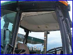 NICE JOHN DEERE 5420 4 X 4 CAB LOADER TRACTOR