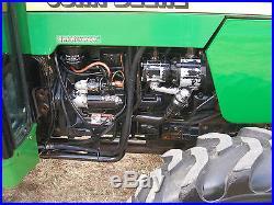 NICE JOHN DEERE 5510 N 4 X 4 CAB TRACTOR