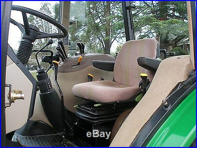 NICE JOHN DEERE 5520 4 X 4 CAB LOADER TRACTOR