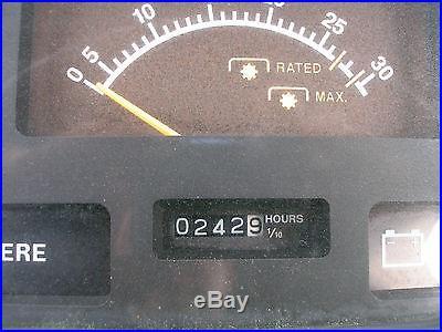 NICE JOHN DEERE 990 4 X 4 LOADER TRACTOR only 242 hours