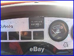 NICE KUBOTA BX1500 4 WHEEL DRIVE TRACTOR WITH MID MOUNT MOWER DECK